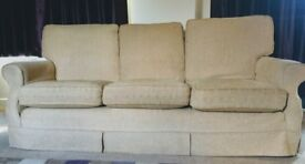 Multi York sofa and two armchairs