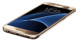 NEW Samsung Galaxy S7 Gold
