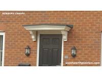 Maintenance free door canopies