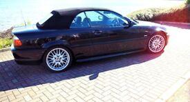 BMW E46 318Ci Black Convertible