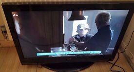 """32"""" Alba HD ready LCD TV Freeview and original remote"""