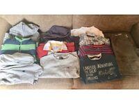Large boys clothes bundle age 7-8. Quality brands