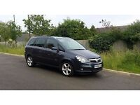 "Vauxhall Zafira Design 1.8i 16v 5dr GREAT LOOKING 7 SEATER 17"" Alloy wheels Metallic Navy"