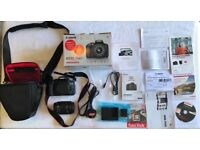 Canon EOS EOS 750D 24.2MP Digital SLR Camera - Black (Kit with 18-55mm Lens) Sorry pick up only.