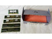 Hewlett Packard HP Memory 64mb SDRAM; 16mb EDO ++