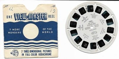 Vintage VIEW MASTER Reel 1900 HOLLAND BY THE ZUIDER ZEE