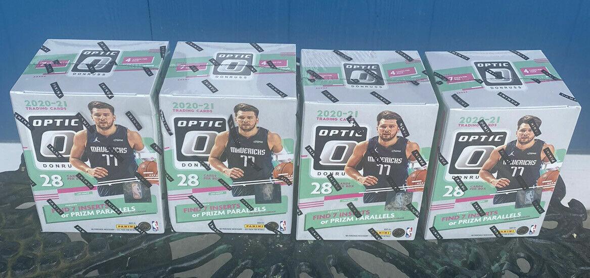 NEW ORLEANS PELICANS 2020-21 PANINI DONRUSS OPTIC NBA 4 BLASTER BOX BREAK 2 - $3.99