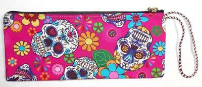 Candy Skull Make-up (FAIR TRADE CANDY SKULL PENCIL / MAKE UP CASE FROM MARRAKESH MOROCCO)
