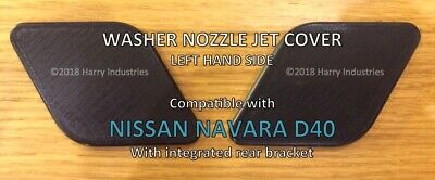 Headlamp washer nozzle jet cover LH - Fits Nissan Navara D40 - Please read