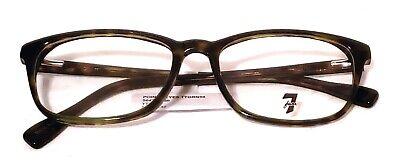 7 FOR ALL MANKIND Point Reyes TTGRN Eyeglass/Glasses Frames 54-17-142 7FAM (All Glass Frames)