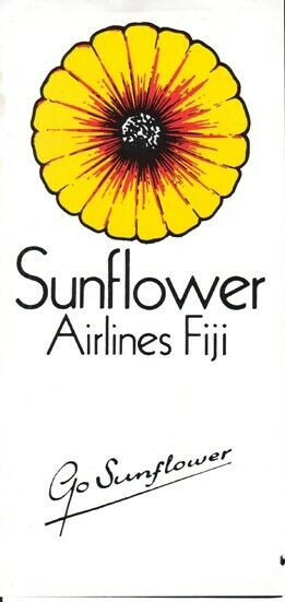 Sunflower Airlines timetable 1993/MAY
