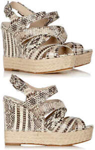 $249 Michael Kors Cynthia Wedge Sandals - New, 9