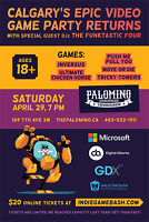 CALGARY'S EPIC VIDEO GAME PARTY RETURNS: THE INDIE GAME BASH