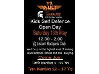 Vault Kids - Krav Maga self defence open day