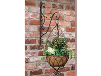 Shabby chic hanging basket Laura Ashley