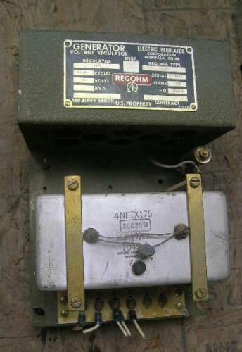 9503, Regohm Generator Voltage Regulator