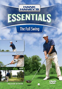 HANK HANEY'S ESSENTIALS---THE FULL SWING GOLF DVD-----new
