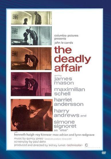 DEADLY AFFAIR Region Free DVD - Sealed