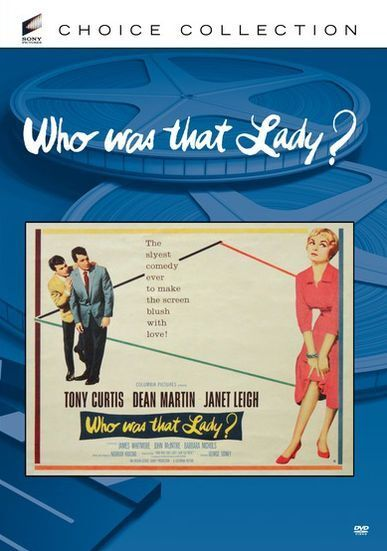 WHO WAS THAT LADY (B&W) Region Free DVD - Sealed