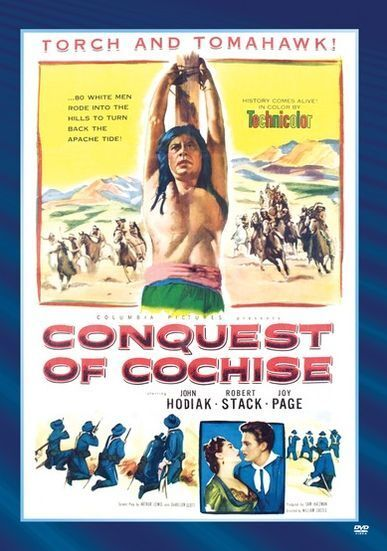 CONQUEST OF COCHISE Region Free DVD - Sealed