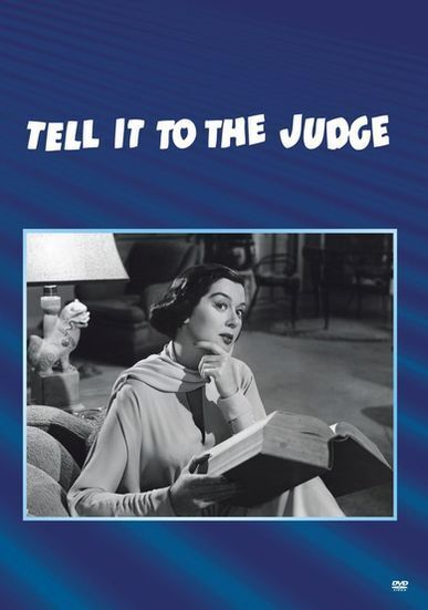 TELL IT TO THE JUDGE (1949 Rosalind Russell) Region Free DVD - Sealed