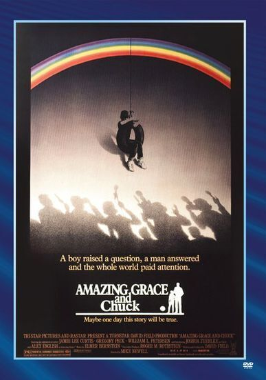 AMAZING GRACE & CHUCK Region Free DVD - Sealed