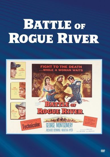 BATTLE OF ROGUE RIVER Region Free DVD - Sealed