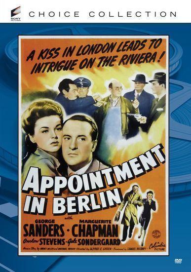 APPOINTMENT IN BERLIN (1943 George Sanders) Region Free DVD - Sealed