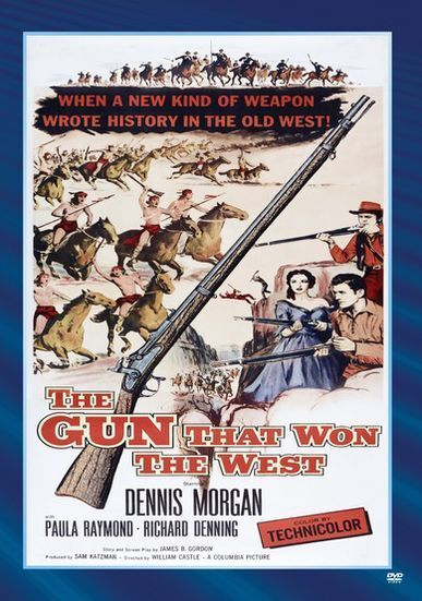 GUN THAT WON THE WEST Region Free DVD - Sealed