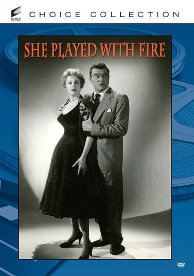 SHE PLAYED WITH FIRE (B&W) Region Free DVD - Sealed