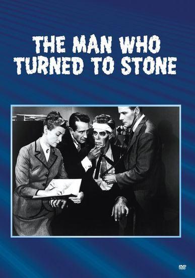 MAN WHO TURNED TO STONE (B&W) Region Free DVD - Sealed