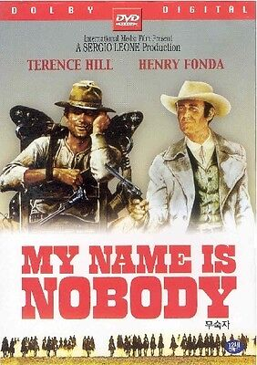 My Name Is Nobody (1974) DVD (Sealed) ~ Terence Hill *BRAND NEW*