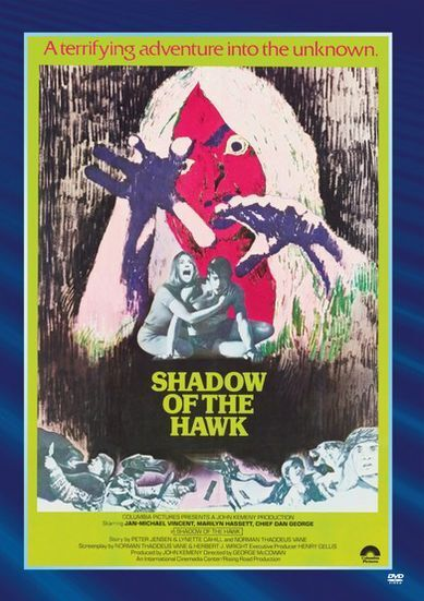 SHADOW OF THE HAWK (1976 Jan Michael Vincent) - Region Free DVD - Sealed