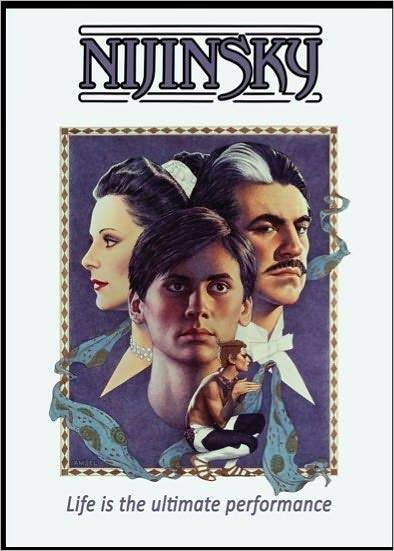 NIJINSKY (1980) (Alan Bates) - DVD - Region 1