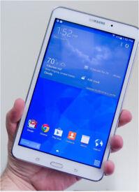 Samsung galaxy tab4 white. 8 gb