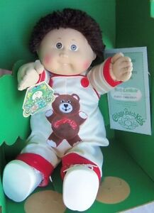 COLECO Cabbage Patch Kids CHRISTIAN PARRY 1984 Boy 1 Tooth, Doll MIB