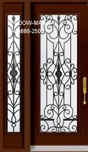 Door Single SideLite Front Entry  many styles