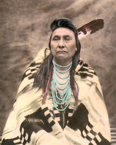 CHIEF JOSEPH NATIVE AMERICAN INDIAN NEZ PERCE 8x10