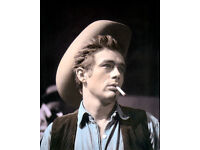 James Dean Dream Forever Quote Tin Sign Movie Star Giant Rebel Hollywood C102