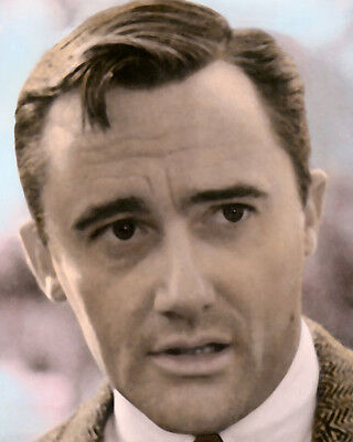 Robert Vaughn The Man From Uncle 1960S Actor 8X10  Hand Color Tinted Photograph