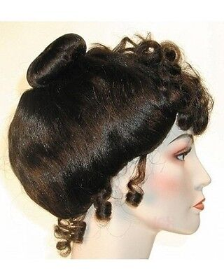 1890S 19TH GIBSON GIRL COSTUME WIG UPSWEEP VICTORIAN GIBSON CINDERELLA LADY WIG (Victorian Wig)