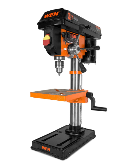 Power Tools WEN 10-Inch Drill Press with Laser, 4210T