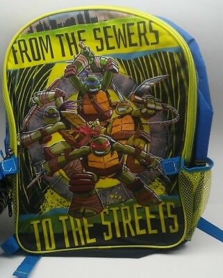 Ninja Turtle Backpack (Teenage Mutant Ninja Turtles backpack with detachable lunch)