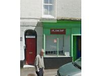 A1 Shop for Rent by the Marina in Watchet, Somerset UK