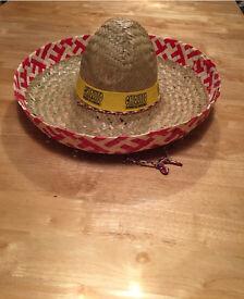Mexican sombrero hat Halloween costume fancy dress