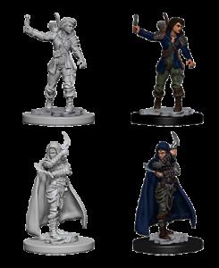 Afbeeldingsresultaat voor pathfinder deep cuts unpainted miniatures female rogue