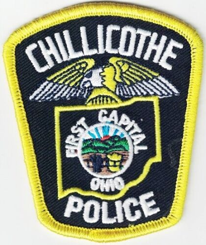 Chillicothe Police First Capital Police Patch Ohio OH