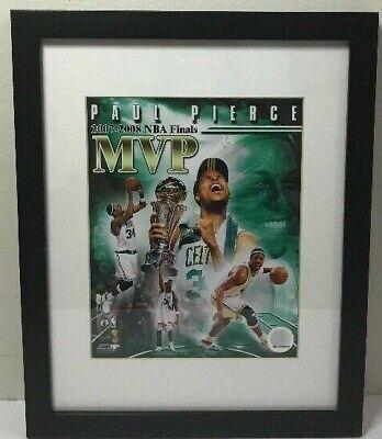 Paul Pierce, 2007-2008 NBA Finals MVP CELTICS Framed Wall Art Black Paul Pierce Frame