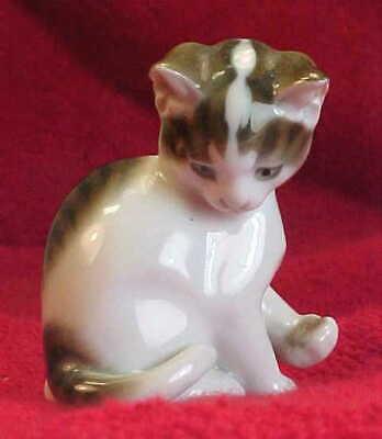 ROSENTHAL  CAT / Kitten Figurine GERMANY  PORCELAIN 2 1/4