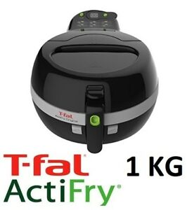 NEW T-FAL ACTIFRY ORIGINAL 1KG FRYER WITH TIMER, BLACK